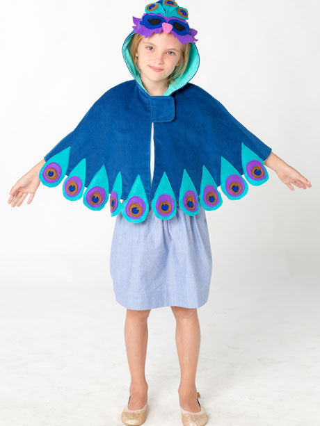 costume cape girls digital downloadable PDF sewing pattern,sew children's clothing pattern, reversible cape
