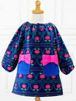 POPPY - Girls Peasant Dress Patterns - Short/Long Sleeve