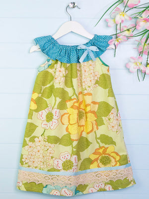 girls peasant dress pattern