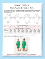Anke dress sewing pattern by MCT