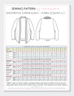 womens cardigan pattern