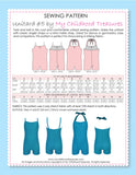Unitard Patterns - Girls - UNITARD#5 - Halter/Singlet Strap (LU05)