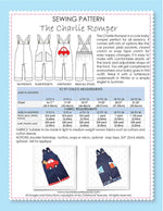 CHARLIE - Boys Romper Sewing Pattern (0-36Mths)