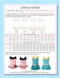 Leotard Patterns, Swimsuit Patterns - LEOTARD #9 - Girls (L509)