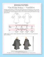 ELKE - Girls Dress Pattern - Stretch
