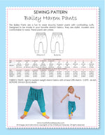 Bailey Harem Pants Pattern by MCT