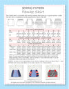 FAMKE - Girls Skirt Sewing Pattern