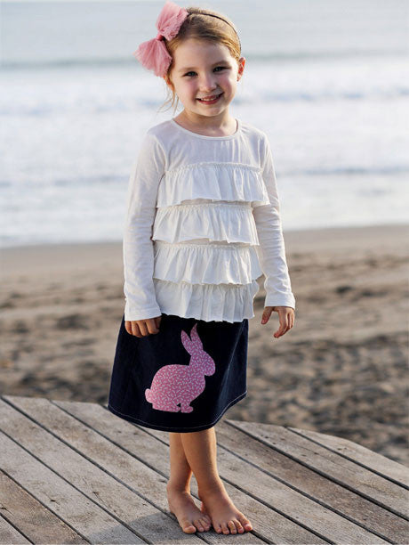 free girls skirt sewing pattern, free children's pattern, free sewing pattern