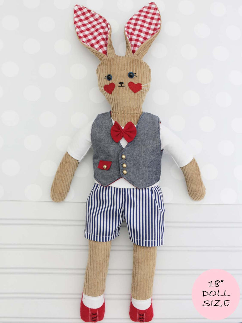 18 inch doll shorts pattern