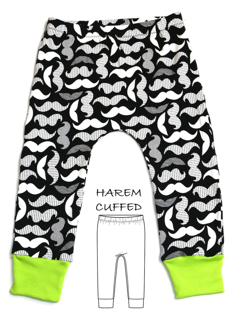 harem leggings pattern