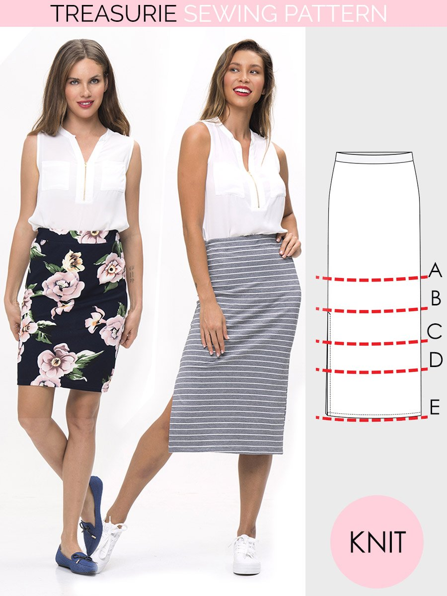 ladies skirt pattern