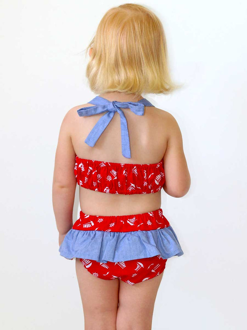 BIRDIE - Baby Swimsuit Sewing Pattern (0-24 Months)