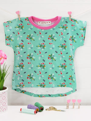 T-shirt - KIDS Cap Sleeve (T502-L)