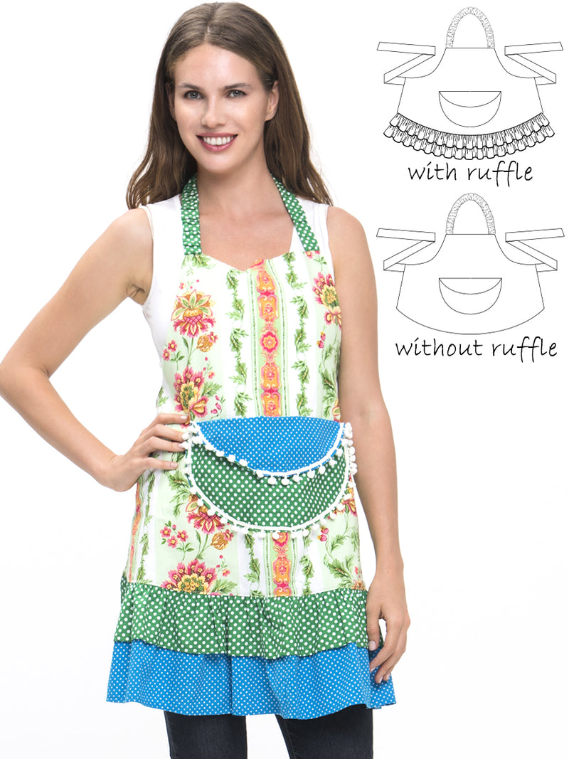 womens apron pattern
