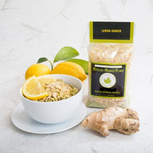 Lemon Ginger Matcha Oatmeal