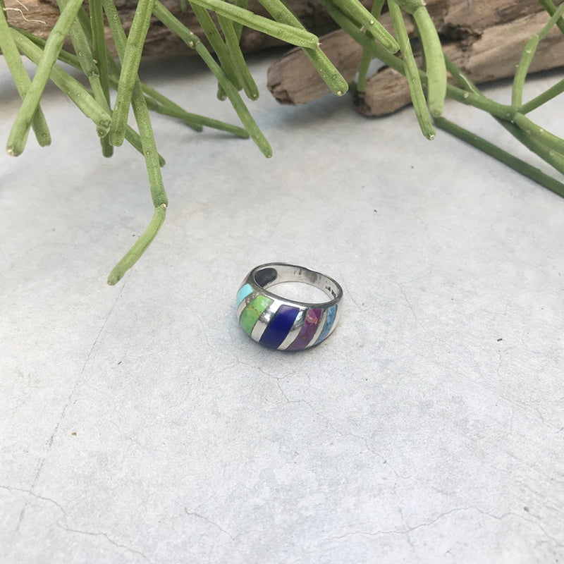 Colorful Dome Ring