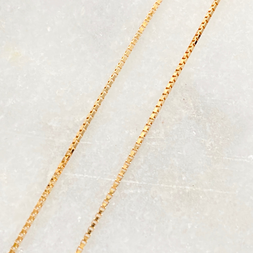 【予約】K18 Venetian Chain Necklace