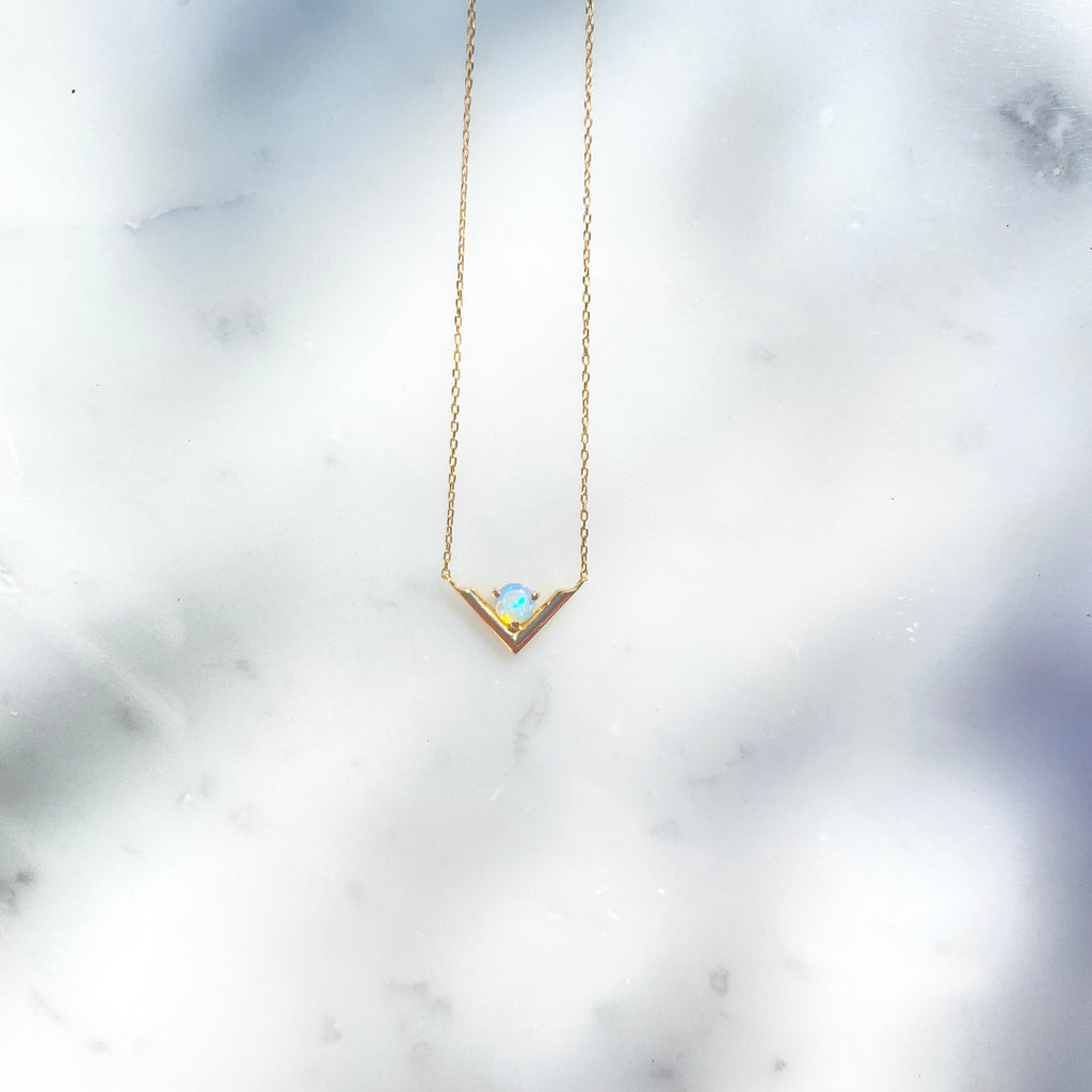 【予約送料無料】Precious Opal  Necklace