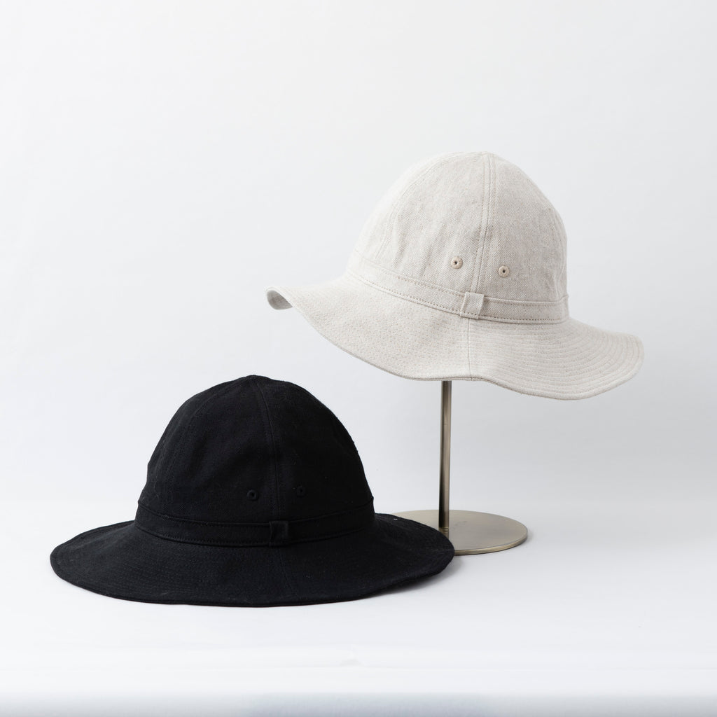 【予約送料無料】Cotton Linen Metro Hat