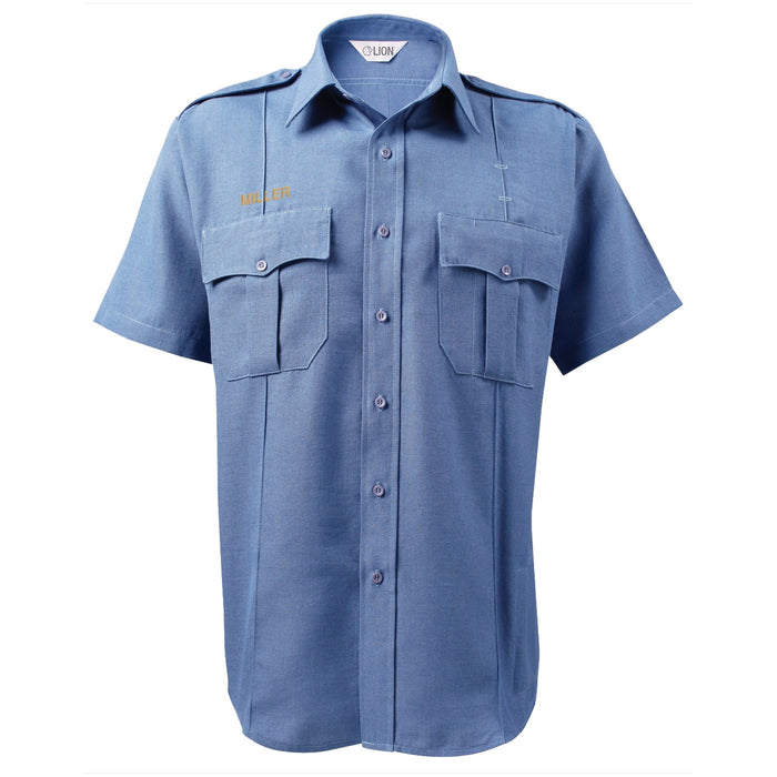 Lion Bravo Short Sleeve Shirt - 5.25 oz Cotton