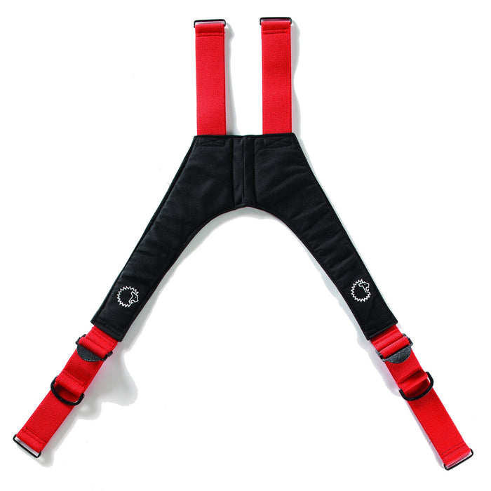 "Lion V-Back Quick Adjust, Stretch Padded Suspenders, 42"" - Square Metal Loops"