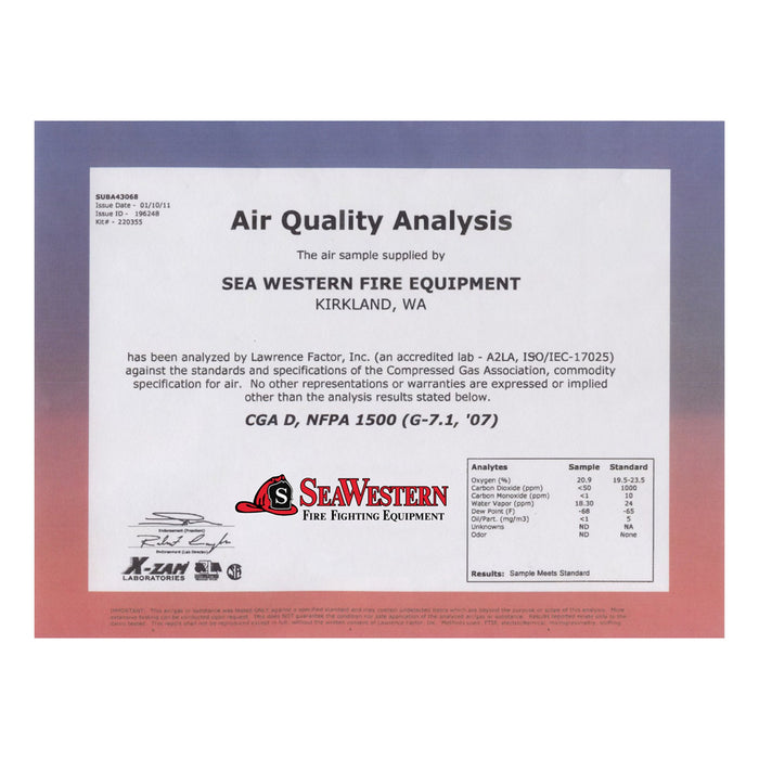 SeaWestern Air Analysis Program
