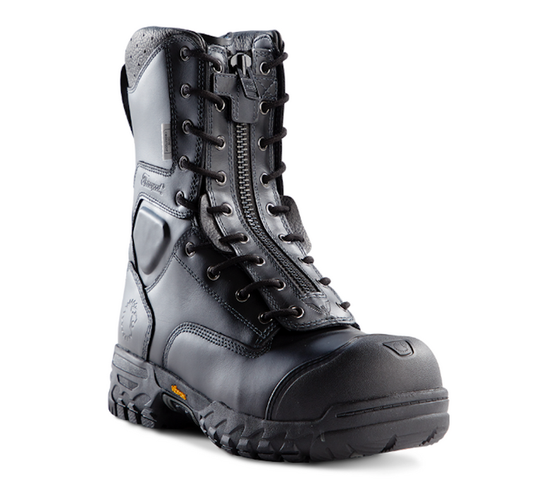 Lion by Thorogood Station 1 - Lace-Up/Zip EMS/Wildland Leather Boot
