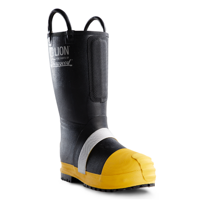 Lion by Thorogood Hellfire Kevlar Insulated Pull-On Rubber Structural Boot