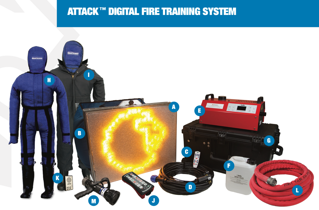 Lion Bullex Attack Digital Fire Training System Package