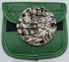 Load image into Gallery viewer, Motorcycle Points Cover - Eagle & Flag - Gunmetal finish - 5 Bolts