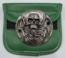 Load image into Gallery viewer, Motorcycle Points Cover - Skull - Gunmetal finish - 2 Bolts
