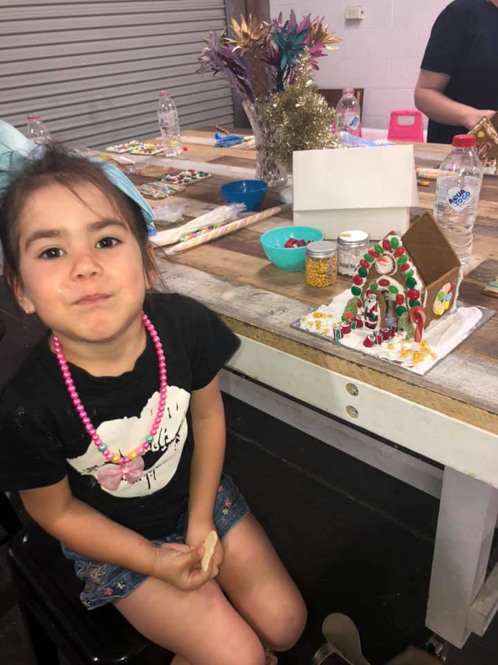 GINGERBREAD HOUSE CLASS 23rd DEC 1PM-3PM