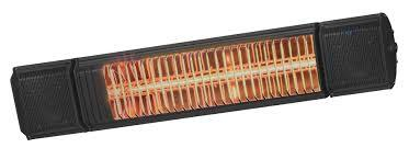 Heat and Beat Black Wandmodel - muziek en heater in 1