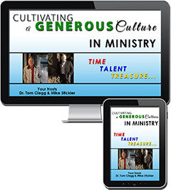 Cultivating a Generous Culture in Ministry - Online Course