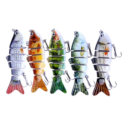 DLLACK™ BIONIC MINI 2 INCH MINNOW SWIM BAIT - SUITABLE FOR ALL KINDS OF FISH