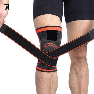 NYLON SILICON KNEE SLEEVE - PERFECT PROTECTION FOR SPORTS