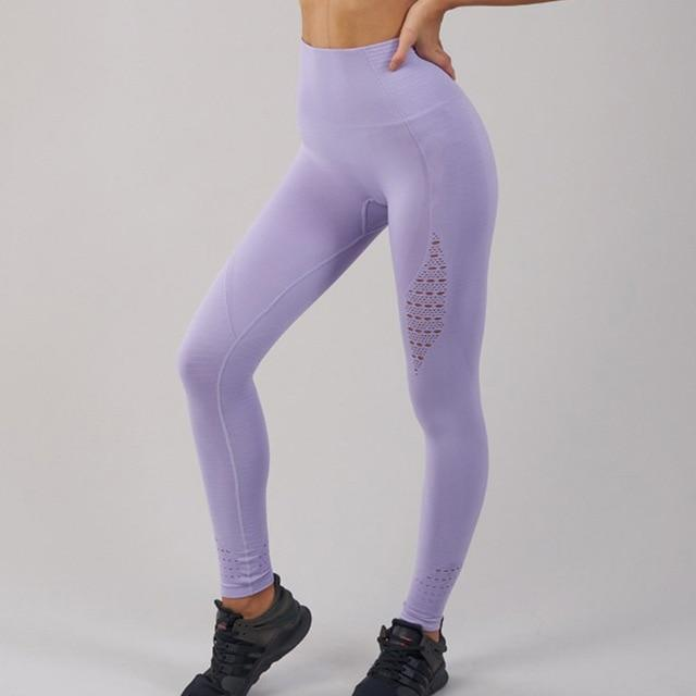 Women Hollow Leggings Push Up Fitness Leggings