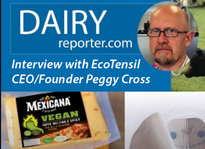 Dairy Reporter Dialog Podcast: Interview with EcoTensil Founder, CEO, and creative force behind the paperboard utensil maker, Peggy Cross