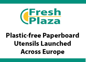 Plastic-free paperboard utensils launched across Europe