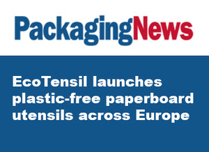 EcoTensil launches plastic-free paperboard utensils across Europe