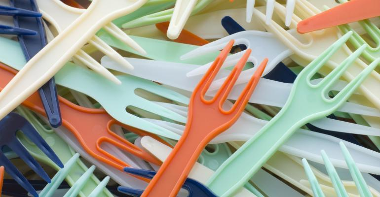 Bidding adieu to plastic dishware and utensils.  It's easier than you think.