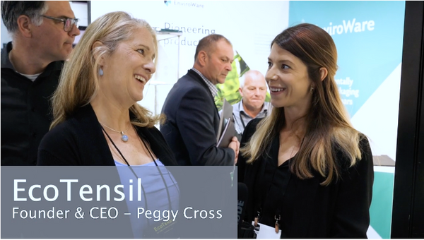 Lunch Show! 2019 London Peggy Cross CEO EcoTensil and Celebration Packaging UK Rep