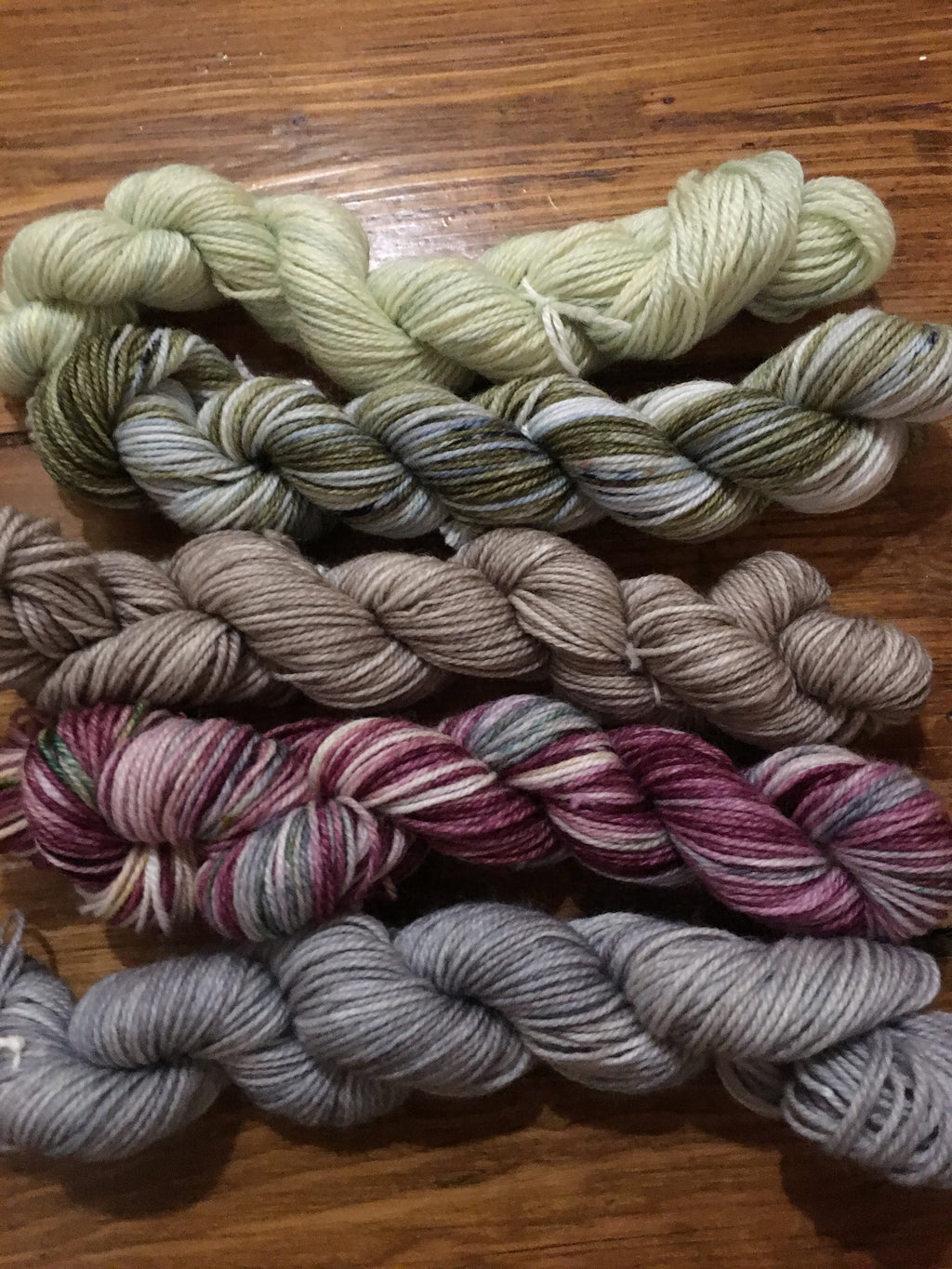 Juniper and Cedar Colour Packs - Aberdeens Wool Company