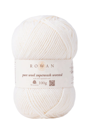 Pure Wool Worsted (Superwash)