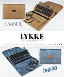 "LYKKE 5"" Interchangeable Knitting Needle Set - Aberdeens Wool Company"