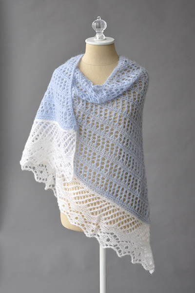 Featherdown Shawl - Free Pattern - Alaska Yarn - Aberdeens Wool Company