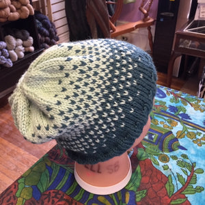 Learn Colourwork - Ombre Hat
