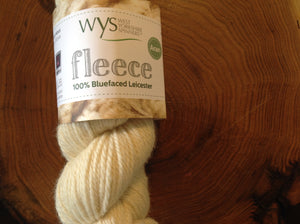 Fleece - 100% Bluefaced Leicester (Aran)