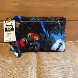 Parrot Knitting Tote