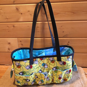 Sheep Knitting Tote